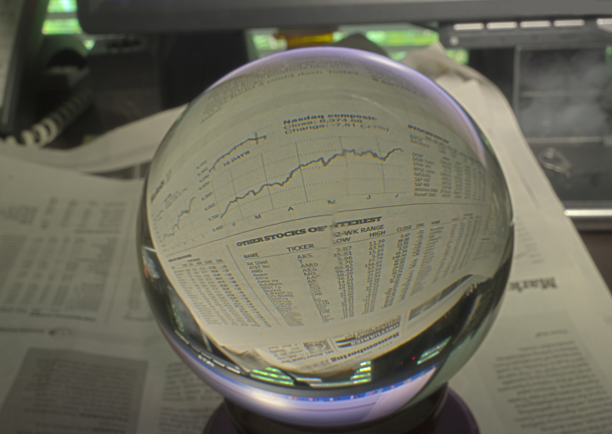 Stock Market Crystal Ball