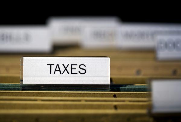 Taxes File Tab